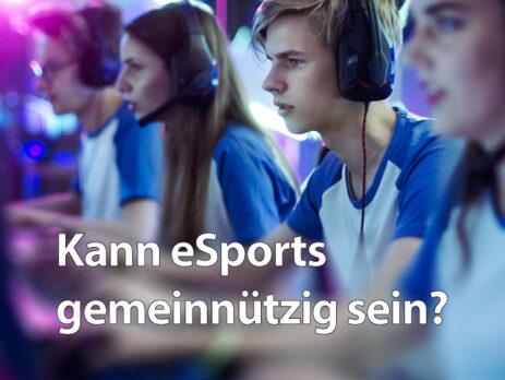eSports gemeinnützig