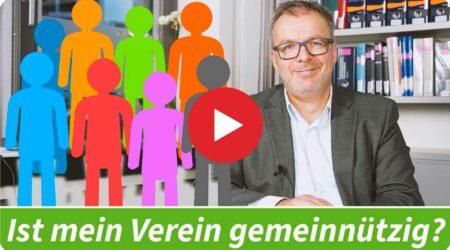 Erklärvideo: Ist mein Verein gemeinnützig?