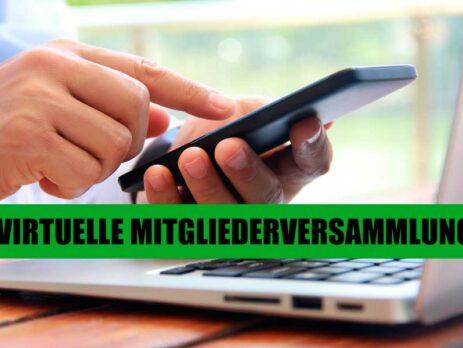 Virtuelle Mitgliederversammlung