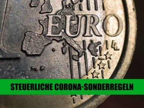 Steuerliche Corona-Sonderregeln