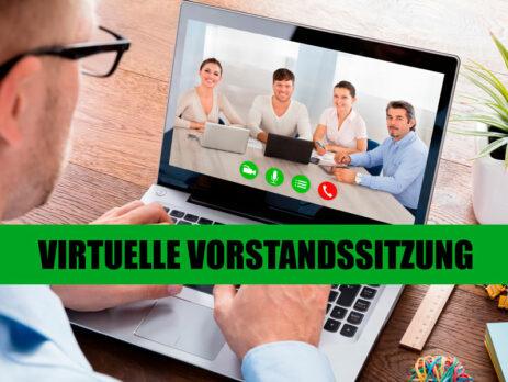 Virtuelle Versammlung im Verein