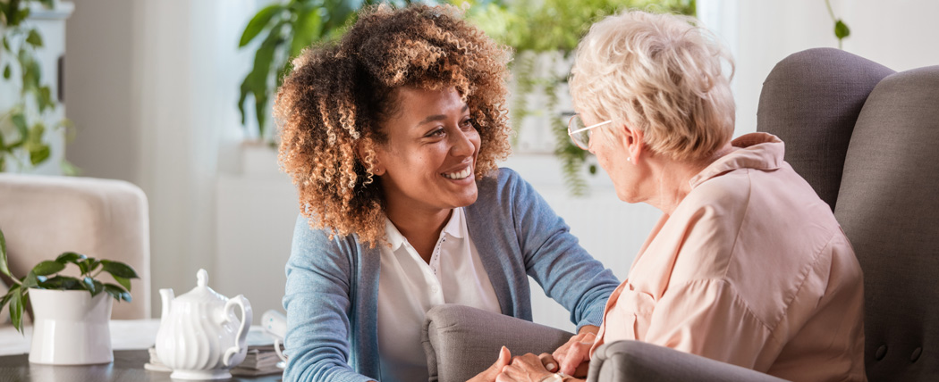 Betreuung von Bewohnern eines Altenheims
