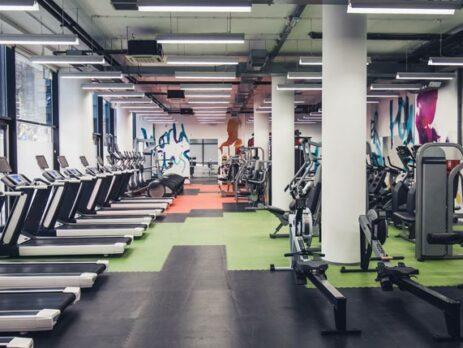 Leeres Fitnessstudio wegen Corona