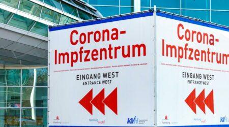 Impfzentrum Hamburg Eingang