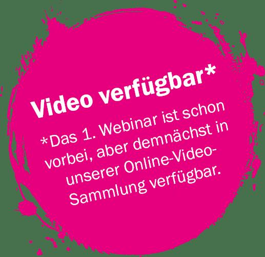 Video verfügbar!